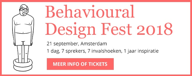 Get your ticket for Behavioural Design Fest, September 21st, Amsterdam