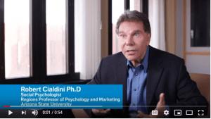 Cialdini beïnvloedingsprincipe social proof
